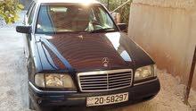 مرسيدس c180 موديل 1996