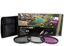 Vivitar 67mm Filter Kit UV CPL FLD for Canon - Nikon & Sony Brand New