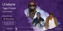 ticket lil wayne, future and tyga