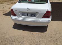 Mercedes Benz CL 320 2002 For sale - White color