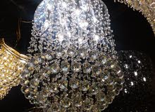 Lighting - Chandeliers - Table Lamps for sale available in Jeddah