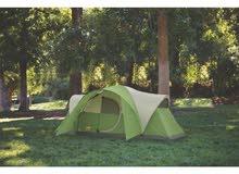 خيمة امريكية نوعية coleman تتسع ل8 اشخاص