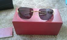 نظارة شمسية فرنسية مذهبة نوع (كارتير)