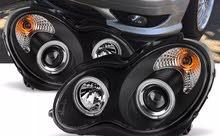 مصابيح مرسيدس c class راااائعة وجديدة بكرتونها تعطي السيارة منظرا جميلا