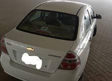 سيارة شفرولية افيو موديل 2016 بيضاء اللون...نظيفه جدا...