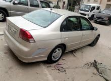Honda Civic 2002 For sale - Gold color