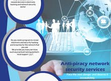 anti-pirace network security services