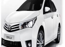 تويوتا كورولا الوافي العالميه للسيارات