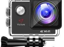 Victure Action Camera 4K WiFi Sports Cam