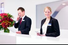 مطلوب موظفات استقبال للعمل فى فندق للسعوديات فقط