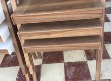 طاولات ثلاثه قطع