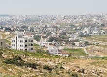 قطعة ارض للبيع في الجبيهة حوض خربة مسلم شارع الاردن