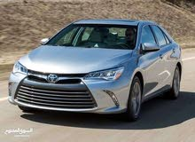 Toyota Camry 2016 for rent per Month