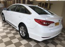 White Hyundai Sonata 2017 for sale