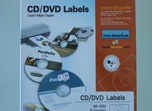 ورق طباعة على السي دي والدي ڤي دي جديد / CD/DVD Labels