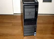 HP WORKSTATION Z600,في 2 برسيسور (XEON x5650)-لشغل الهندسة العالي جداا