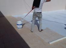 عزل أسطح المنازل التالفة والقضاء على الرطوبة