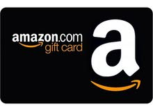 Amazon gift cards (25, 50, 75,100$)