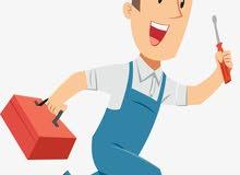 تصليح وقص وتعديل الكنب والستائر والباطورمة  والمساند ودواليب المطابخ وغرف النوم