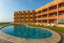 غرف فندقية بقرية fanar de luna بالعين السخنة بنطام الtime share