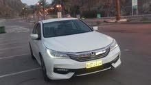 Honda Accord هوندا اكورد أبيض 2016جدا نظيفة وارد