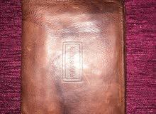 محفظه رجالي اصلي جلد طبيعي