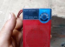 لعشاق التميز راديو جيب ناشونال بحالة الزيرو لسماع القران الكريم يعمل ب 2 حجر قلم