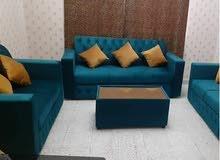 كل الأريكة مصنوعة من تشطيب جيد  amazing set couch i have