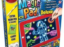 لوحة الرسم السحرية عالية التقنية للأطفال Magic Pad. اجعل أطفالك يستمتعون بإبداعاتهم الخلاقة