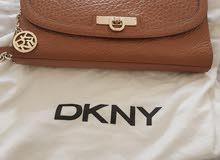 Brown DKNY shoulder bag