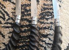 سكاكين كسف نوع opinel inox بقرن غزال.. للجادين فقط