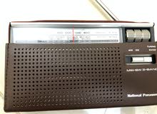 راديو ناشيونال بانا سونيك قديم مخزن بالكرتون