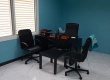 مكاتب للايجار في مدينة خليفة الجنوبية شارع الجزيرة العربية بزنس سنتر