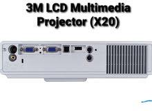3M LCD Multimedia Projector (X20)