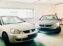 للبيع سيارتين متسوبيشي لانسر خليجي2007&2010