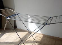clothes stand with buket & shoe rack & dustbins