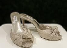 Dune london Gold heels