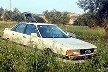 Used condition Audi 80 1990 with +200,000 km mileage