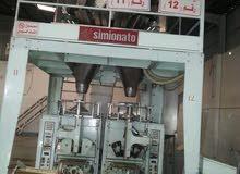 مصنع بفك ايطالي  متكامل. ماعدا مكينة الاسكودر