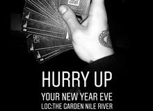 Ticket New Year The Garden Nile river
