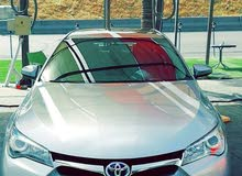 Grey Toyota Camry 2015 for rent