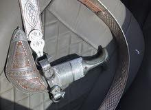 خنجر عمانية صورية والرأس رأس زراف هندي سبب البيع الحاجة