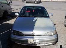 Grey Hyundai Accent 1995 for sale