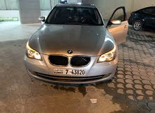Silver BMW 535 2008 for sale