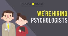 We are hiring a psychologist to work in private center