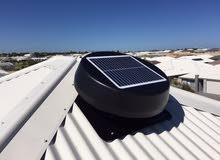 جهاز تبريد و تهوية السقف و الخدمات الماء بطاقة الشمسية