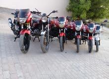للبيع دراجات  150-160-180سي