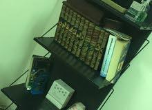 رفوف للكتب اسود