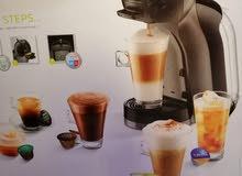 آلة لصنع القهوة والناسكافيه وغيرها من المشروبات.