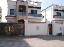 Villas in Ajman and consists of: 5 Bedrooms Rooms and 5+ Bathrooms Bathrooms is available for rent